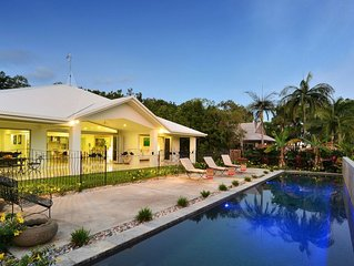 Harmony House with golf views