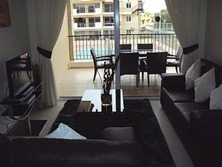 Well Maintained Apartment In Quiet Complex, Overlooks Pool Area And Tennis Court