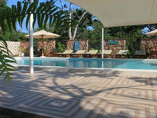 Elo's Beach House is located on the stunning stretch of Diani Beach in Kenya.