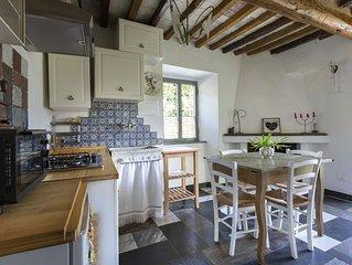 Da Carla in Toscana appartamento con vista mare e su un giardino di limoni