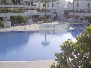 Ground floor 2 bed 2 bath on sought after Parque Santiago 1 Playa de las America