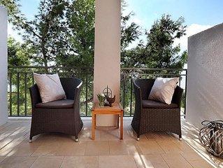 One bedroom apartment with terrace and sea view Sveta Nedilja (Hvar) (A-17139-a)