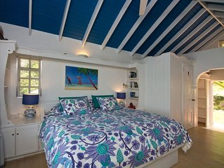 Ravenala House, Lower Bay, Named in The Times 50 best Villas in the Caribbean.