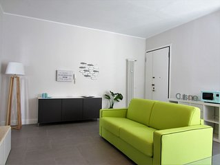 ★NEW & MODERN APARTMENT ON THE SEA - 5 PERSON★ RIMINI ★ free wifi