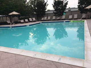 Great location in Rehoboth Crossing.  Relax at pool. Enjoy walk on 5 mile trail.