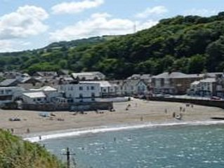 Happy Seaside Days at Cornwall House in Combe Martin, Devon