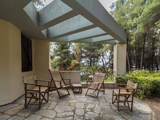 Vila with great garden and pool in Sani.
