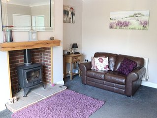Lovely warm and cosy 2 double bedroomed cottage, set in small hamlet