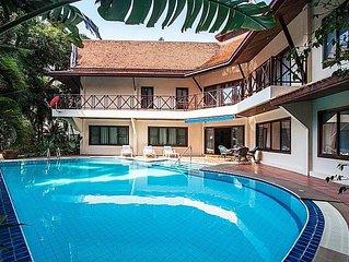 Luxury Traditional Thai Pool Villa 5 Bdr