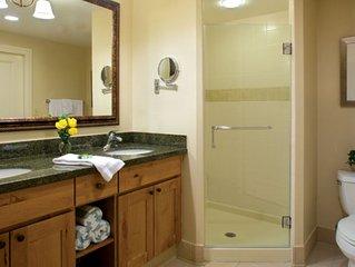 Marriott's Timber Lodge Lake Tahoe 1 Master bedroom Villa