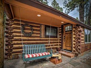 Cedar/Lake/Mountain Views/Lake Access/Sleeps 5/Log Cabin/Weekly/Monthly Discount