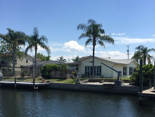 Awesome Waterfront 3BR/2BA Custom Home w/Heated Pool & Dock! 1-Story