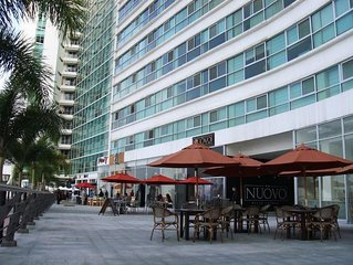 Full equipped appartment riverfront guayaquil