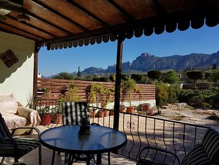 Comfortable stay at the footsteps of a hill, breathtaking views