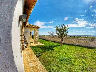 Splendida Villa sul lungomare tra Marzamemi e Portopalo
