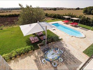 Splendida Villa Balata in affitto vicino a Ragusa (Sicilia) da My Rental Homes