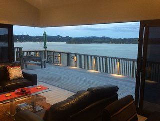 Stunning views in a magnificent waterside location