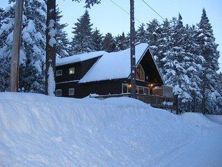 Jay Peak Ski Chalet located in private resort