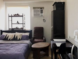 Cozy Studio Condominium Unit in Trees Residences, Fairview, QC