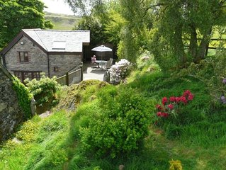 Lovely hillside cottage set in 18 acres with loads of facilities!