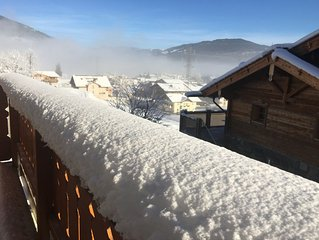 Penthouse Chalet Apartment in Ski/Summer Resort