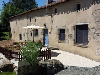A traditional French 3 bedroom Farmhouse with swimming pool