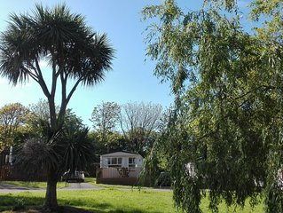 Luxury Caravan On The 5 Star Trevella Park, Crantock, Newquay, Cornwall