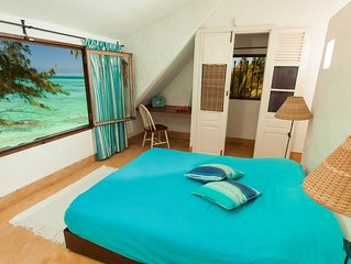 Villa Isabella, Palmar plage coin de paradis! pied dans le lagon turquoise! wifi
