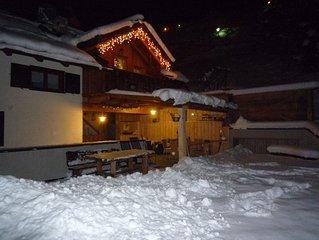 Mansarda spaziosa e luminosa nel cuore delle Dolomiti.