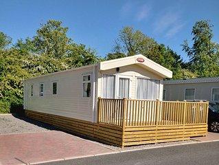 holidayincumbriacouk Caravan - No. 5 Brigham Holiday Park, Cockermouth Cumbria