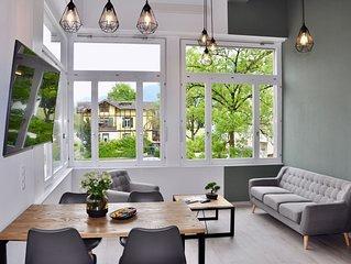 Brand NEW family apartment in central Interlaken