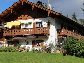 Ferienwohnung Alpspitz im Landhaus Wiesenhof
