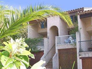 2-Zimmer-Haus für 4 Personen. Preiswerte Unterkunft am Golf von Saint Tropez