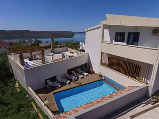 house with seaview, 180 m from the beach
