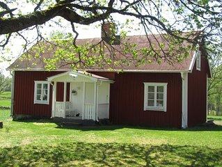 renoviertes Ferienhaus in Sudschweden in absolut ruhiger Lage