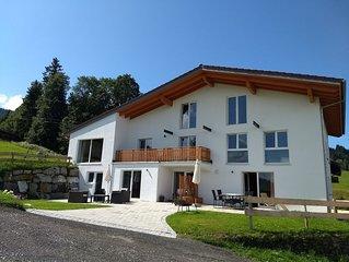Weitblick und Familiennest -Erdgeschoss- Ihr Domizil direkt am Ski-Zubringerlift