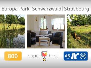 Apartment near Strasbourg - Europapark - Schwarzwald  97sq