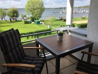 Traumhafte, komfortabel eingerichtete Wohnung direkt am Scharmutzelsee
