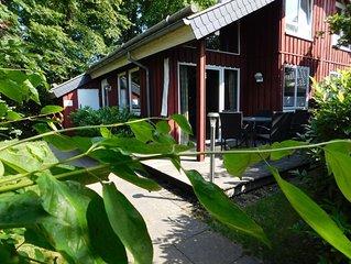 Ferienhaus  im skandinavischen Stil mit WLAN (!), Kamin, Sauna + GS