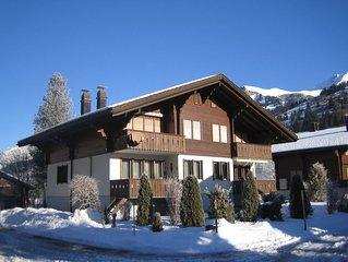 Gemutliche, vom Vermieter selbst genutzte Ferienwohnung im Chalet Pirol
