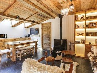 Magnifique Appartement 3P au Ceour de Megeve !