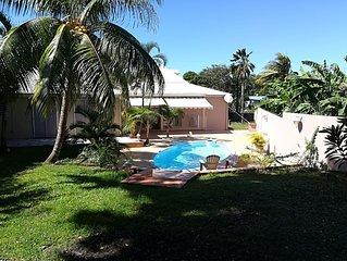 Villa de 220 m2 avec piscine proche de la plage
