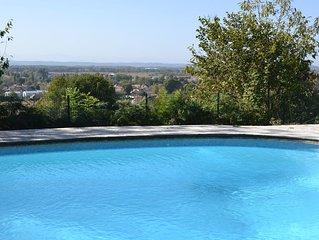 Gite labelisé gite de france avec piscine, en campagne entre mer et montagne