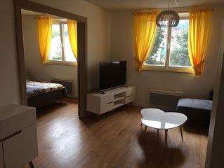 Appartement spacieux a 200 m du lac