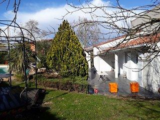 maison avec piscine située aux portes de Toulouse au calme et à 80kms d'Albi