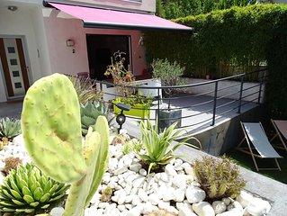 Belle villa 200m² avec piscine quartier calme 6-8 personnes