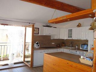 Maison du Pêcheur à Mèze (34) , 140 m2, 150 m port, des plages