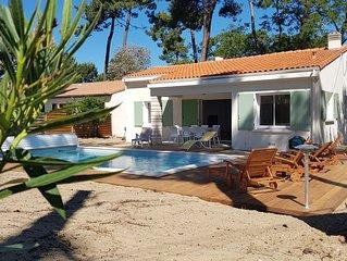 location maison individuelle  piscine chauffée et WIFI