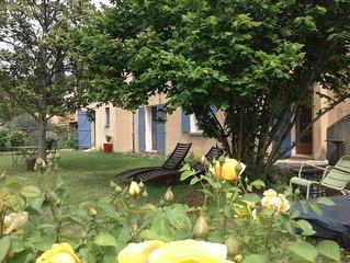 NEW  PROMO- Maison, superbe vue sur le village , tres lumineux  et beau jardin
