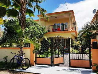 Latanier Villa : Two bedrooms, living room, private kitchen and balconies.